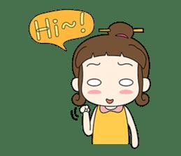 Sunny day 'Bori' sticker #4770104
