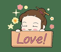 Sunny day 'Bori' sticker #4770115