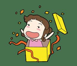 Sunny day 'Bori' sticker #4770117