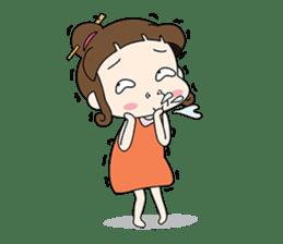 Sunny day 'Bori' sticker #4770122
