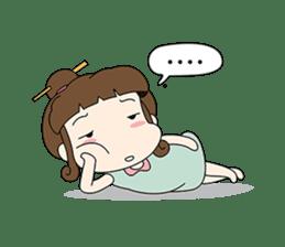 Sunny day 'Bori' sticker #4770132