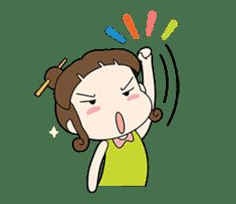 Sunny day 'Bori' sticker #4770138