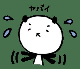 Studying Pandas sticker #4770669