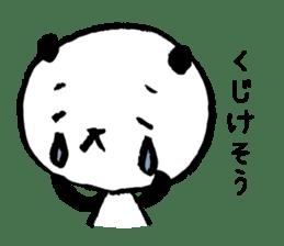 Studying Pandas sticker #4770670