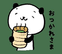 Studying Pandas sticker #4770672