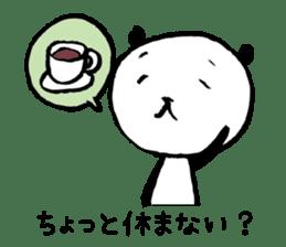 Studying Pandas sticker #4770688
