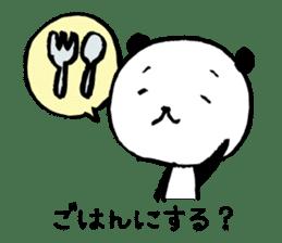 Studying Pandas sticker #4770689