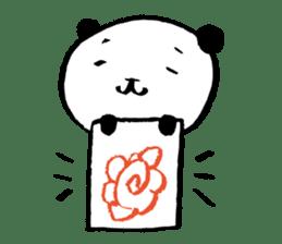 Studying Pandas sticker #4770692