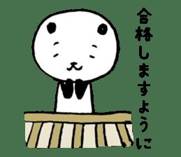 Studying Pandas sticker #4770695
