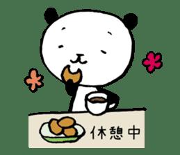 Studying Pandas sticker #4770696