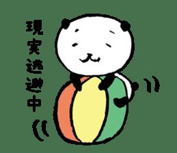 Studying Pandas sticker #4770697