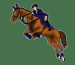 Sticker of horse lovers sticker #4772464