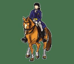 Sticker of horse lovers sticker #4772465