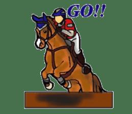 Sticker of horse lovers sticker #4772466