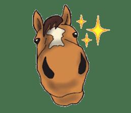 Sticker of horse lovers sticker #4772467