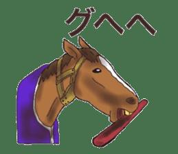 Sticker of horse lovers sticker #4772468