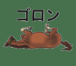 Sticker of horse lovers sticker #4772471