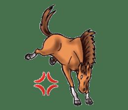 Sticker of horse lovers sticker #4772472