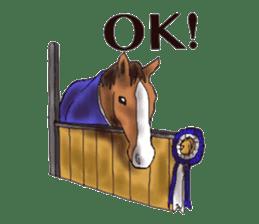 Sticker of horse lovers sticker #4772475