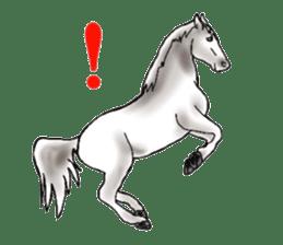 Sticker of horse lovers sticker #4772477