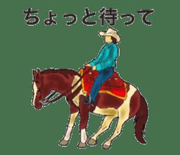 Sticker of horse lovers sticker #4772479