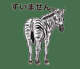 Sticker of horse lovers sticker #4772481