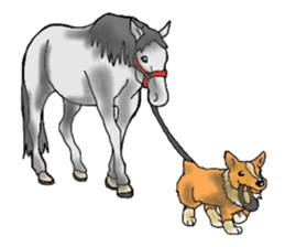 Sticker of horse lovers sticker #4772483