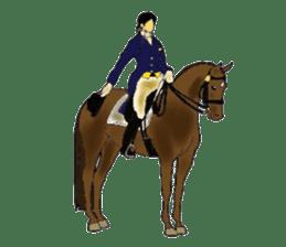 Sticker of horse lovers sticker #4772484