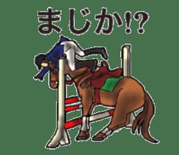 Sticker of horse lovers sticker #4772488
