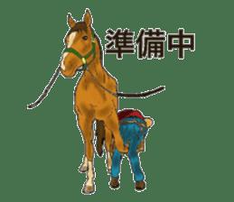 Sticker of horse lovers sticker #4772491