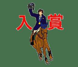 Sticker of horse lovers sticker #4772501