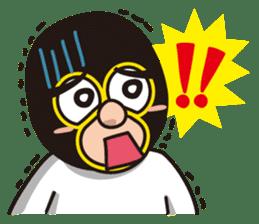 KURO GOMAN sticker #4773477