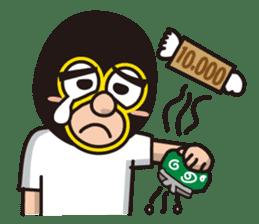KURO GOMAN sticker #4773483