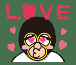 KURO GOMAN sticker #4773484