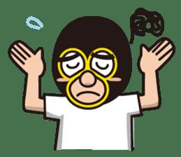 KURO GOMAN sticker #4773486