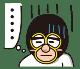 KURO GOMAN sticker #4773493