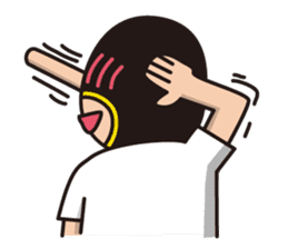 KURO GOMAN sticker #4773496