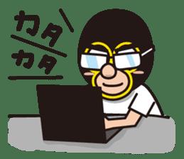 KURO GOMAN sticker #4773497