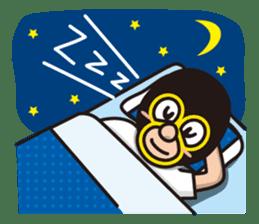 KURO GOMAN sticker #4773500