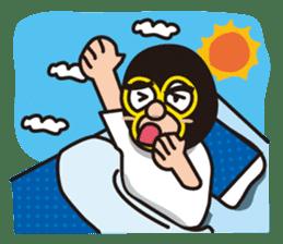 KURO GOMAN sticker #4773501