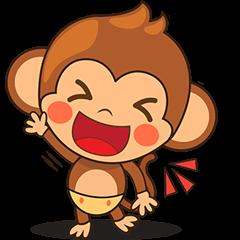 Chiki the cute monkey version 2