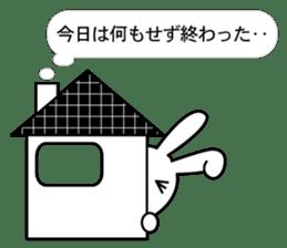 NekuRabbit(a shut-in) sticker #4773883