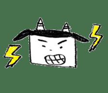 shikaku sankaku tokidoki maru sticker #4774193