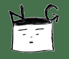 shikaku sankaku tokidoki maru sticker #4774199