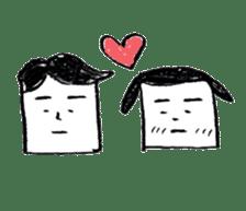 shikaku sankaku tokidoki maru sticker #4774214
