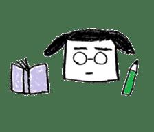 shikaku sankaku tokidoki maru sticker #4774220