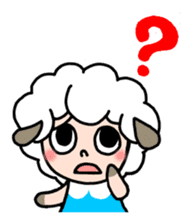 Sheep of ROCHER sticker #4774824