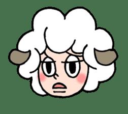 Sheep of ROCHER sticker #4774830