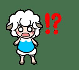 Sheep of ROCHER sticker #4774831