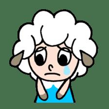 Sheep of ROCHER sticker #4774833